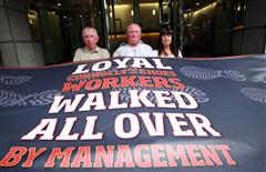 Support rally for dismissed Connolly Shoes workers