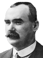 James Connolly was proud to raise the Green Flag of Ireland.