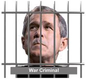 Is anyone going to prosecute George W. Bush for crimes against humanity?