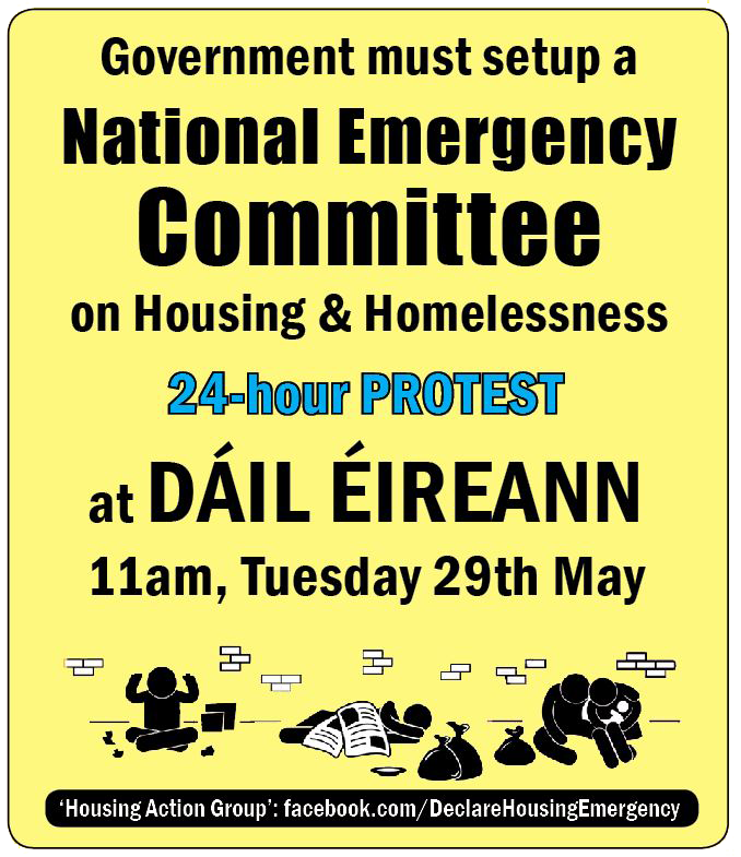 Housing Action Group writes to all TDs